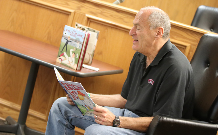 Storytime with Texas Rangers on June 26