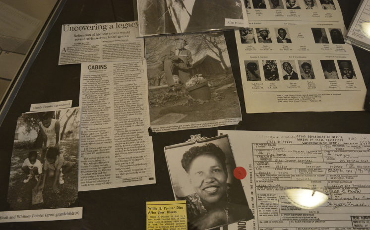 Special Exhibit on Martin Luther King, Jr. on display during Black History Month
