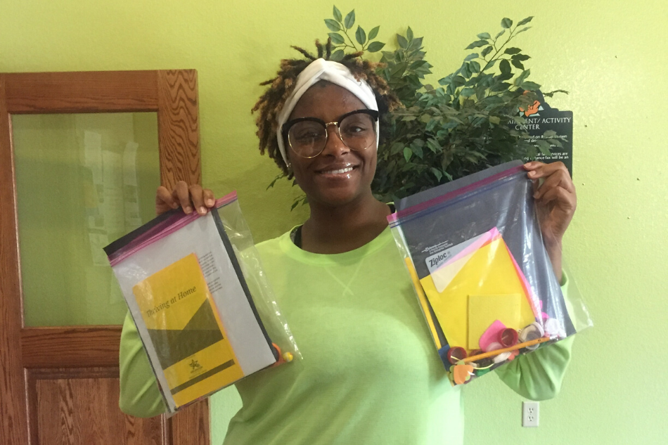 Arlington Public Library Delivers Activity Kits to Families in Apartment Complexes