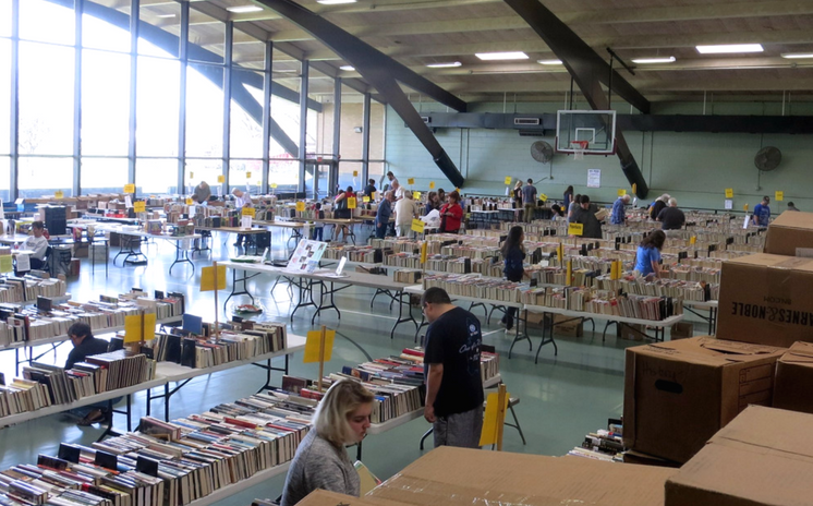 Fall Book Sale brings Amazing Deals, Book Choices