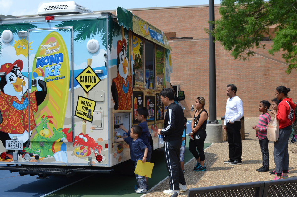 Cool off on Tax Day with Free Kona Ice at the Library