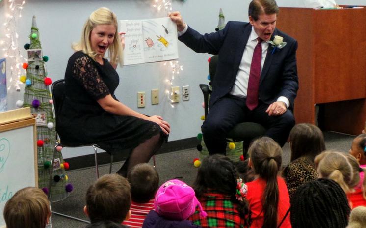 Mayor's Holiday Pajama Storytime offers Festive Family Fun