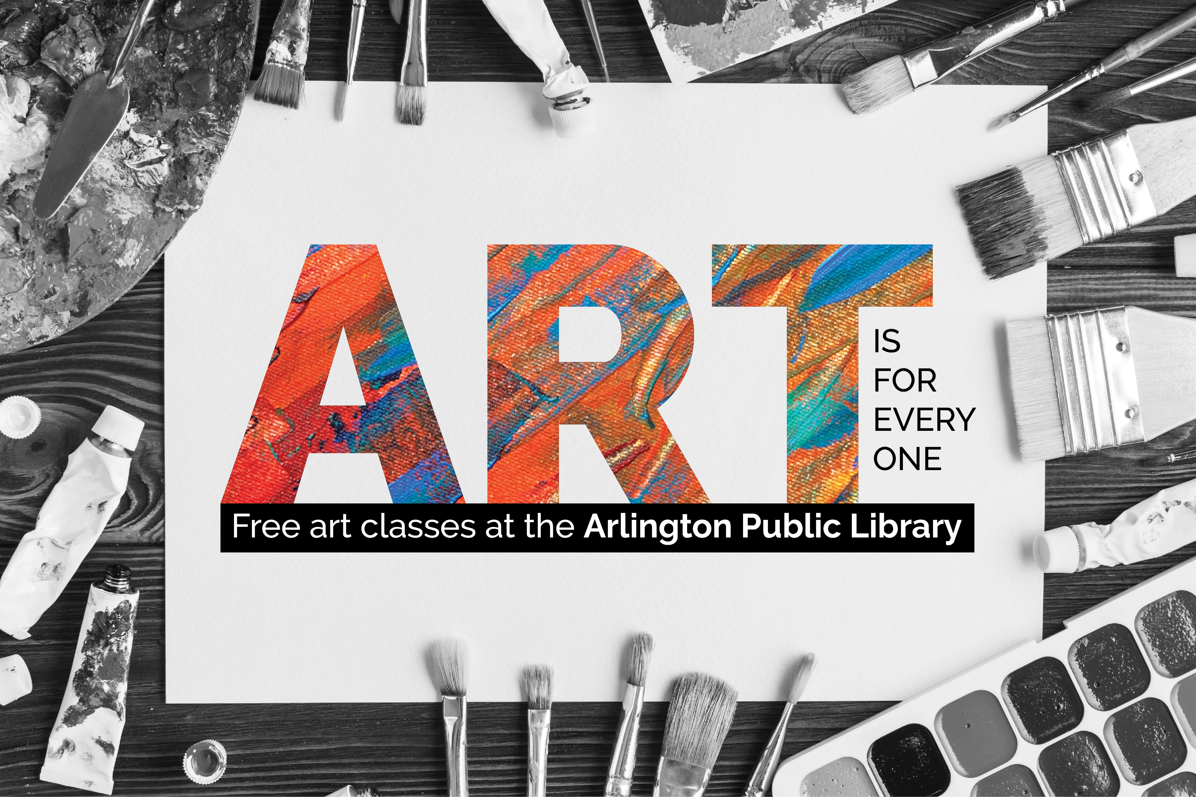 Art is For Everyone offers Free Streaming Art Workshops
