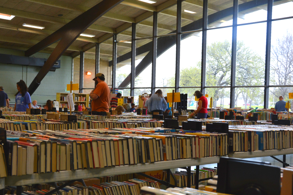 Get a Jump on Spring Cleaning and with Library Book Drives