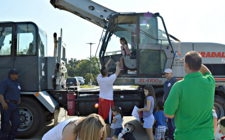 Touch-a-Truck lets Children Explore Community Vehicles