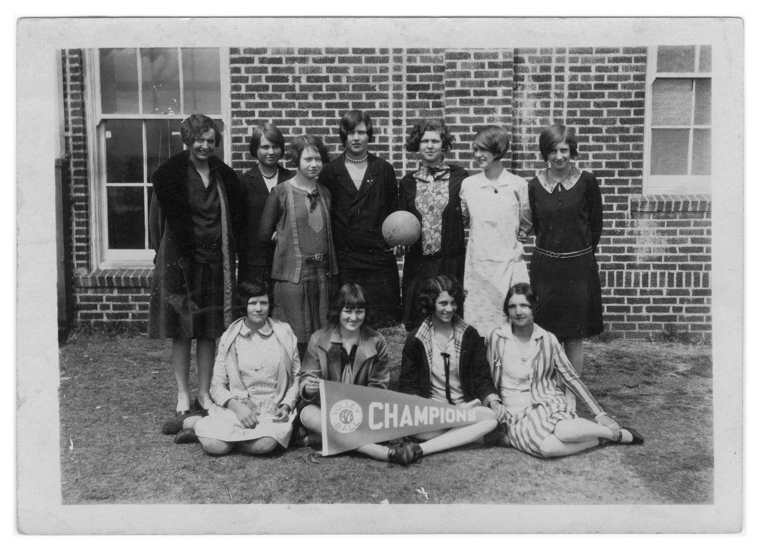 1927-1928 Arlington High School Volleyball Team
