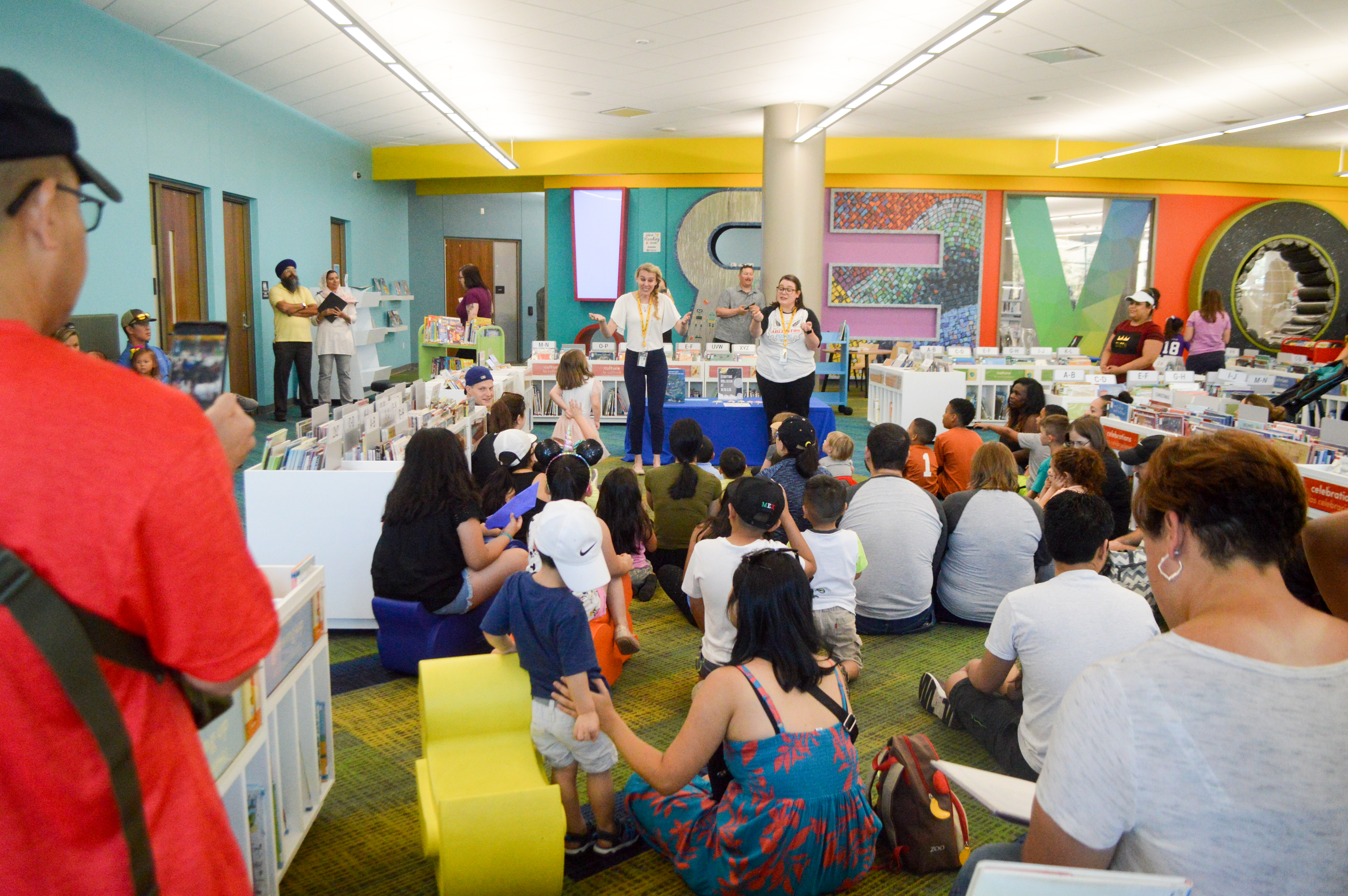Downtown Storytime Summer 2019