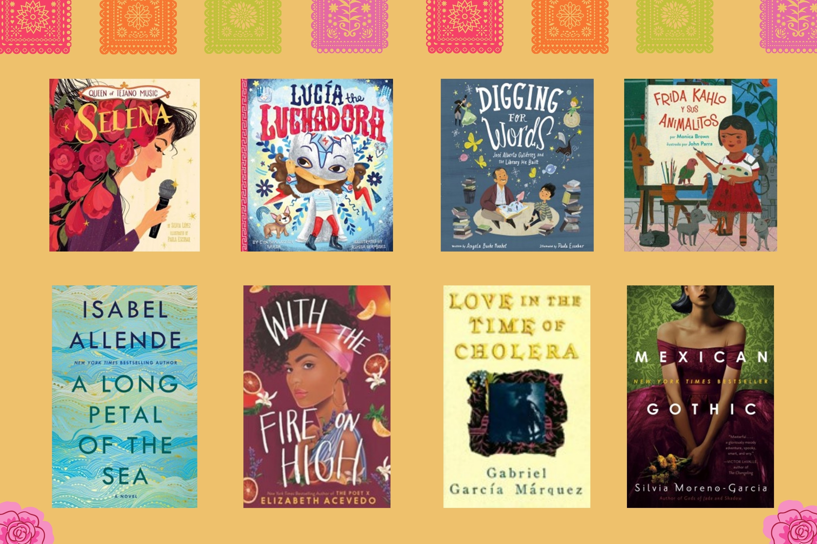 Hispanic Heritage Month Book Recommendations