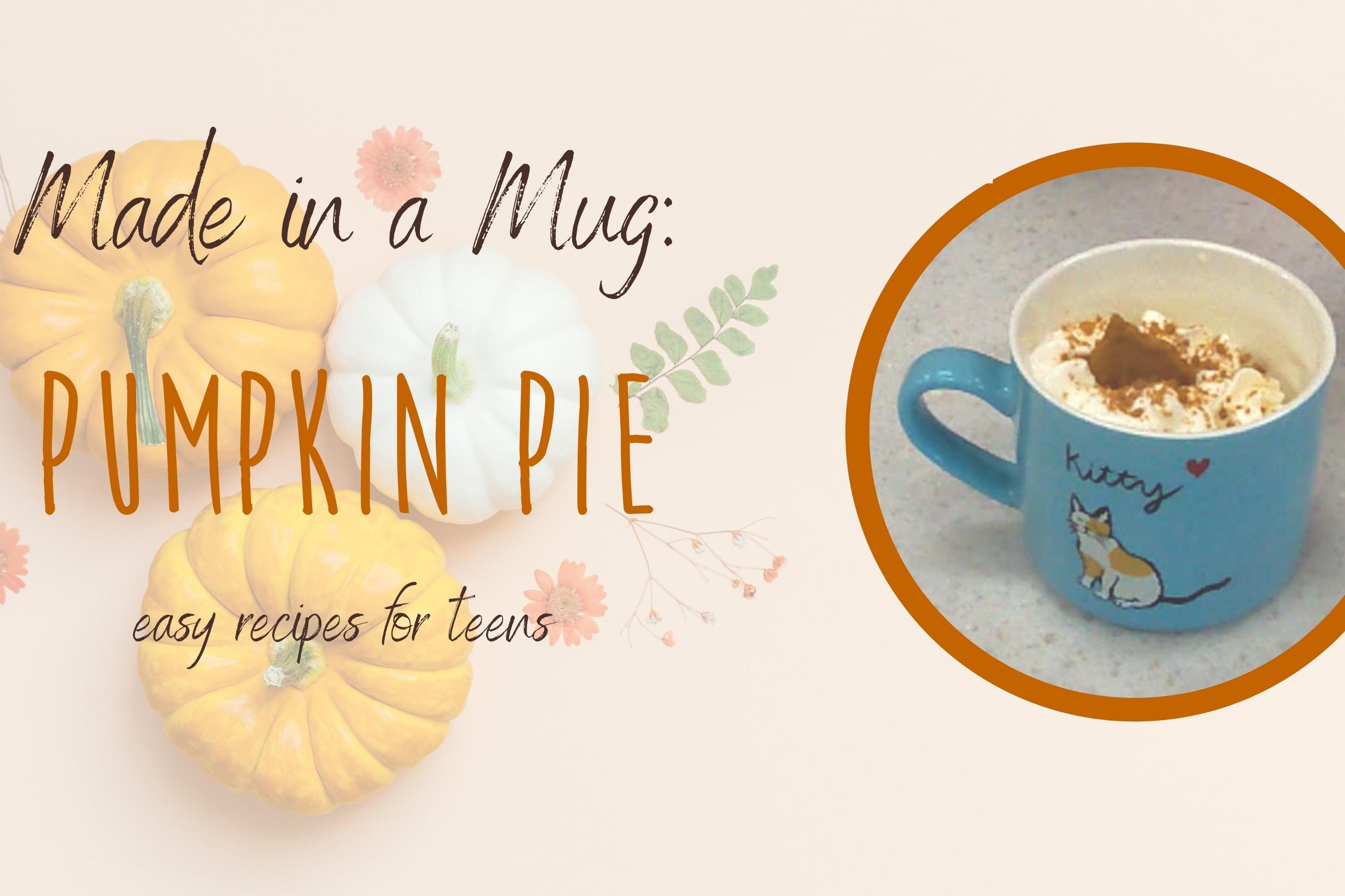 Made in a Mug: Pumpkin Pie