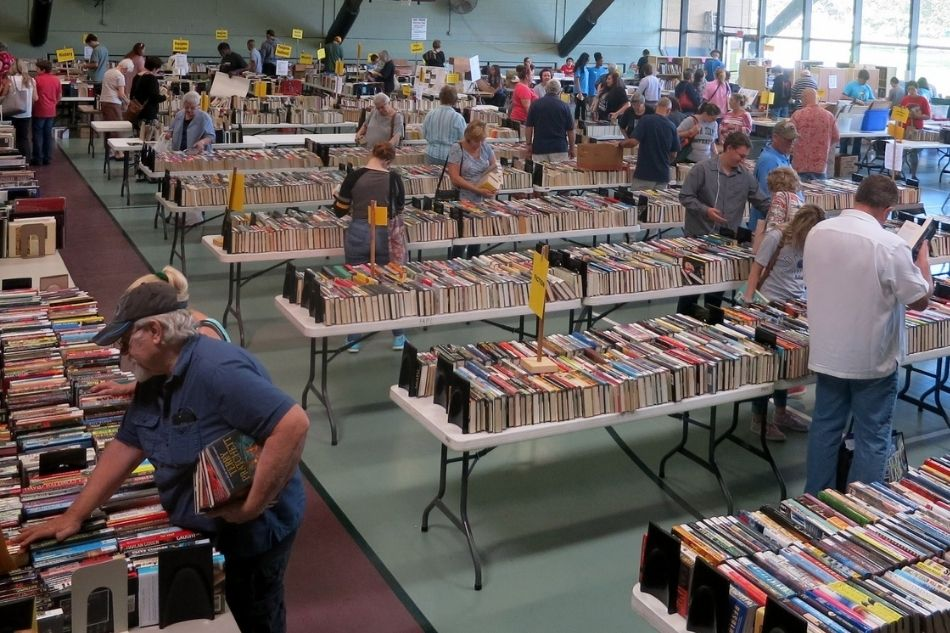 Spring Into Savings with Annual Book Sale