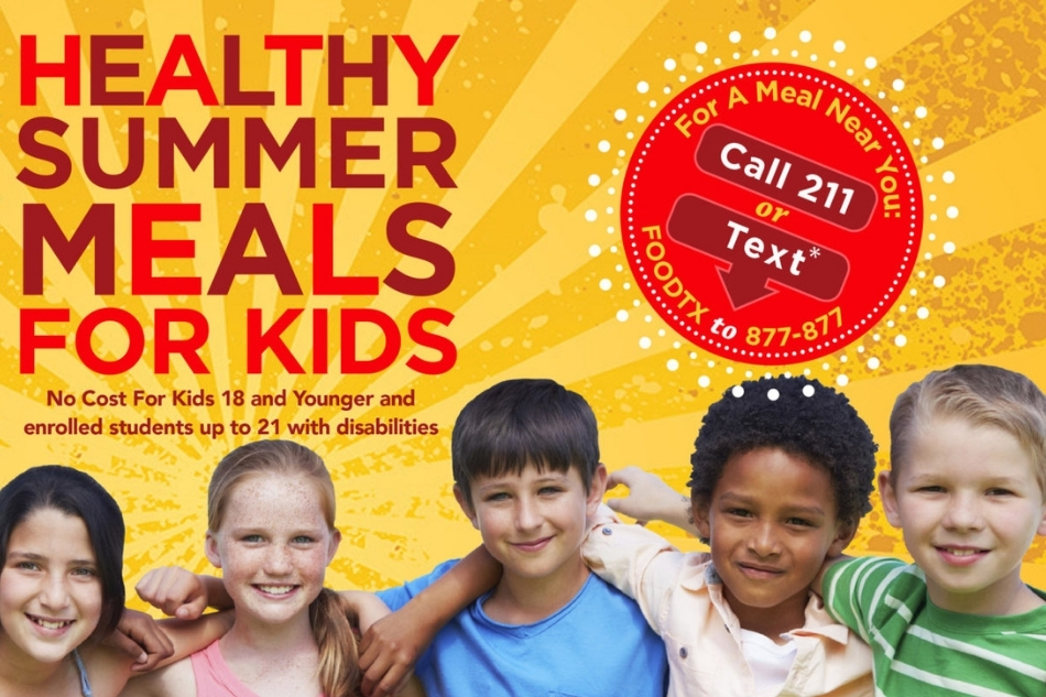 Arlington ISD will Serve Up Good Nutrition for Local Children this Summer