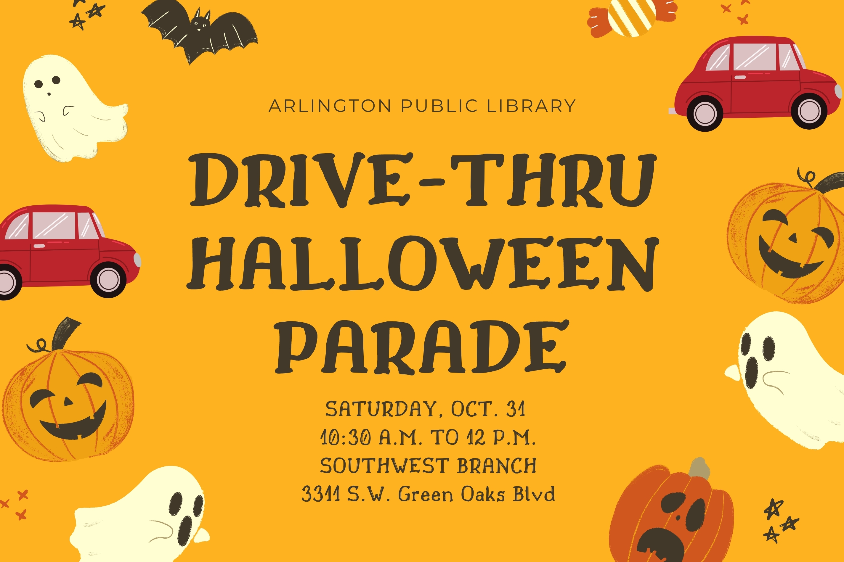 Have a Fa-boo-lous Halloween with Drive-Thru Parade